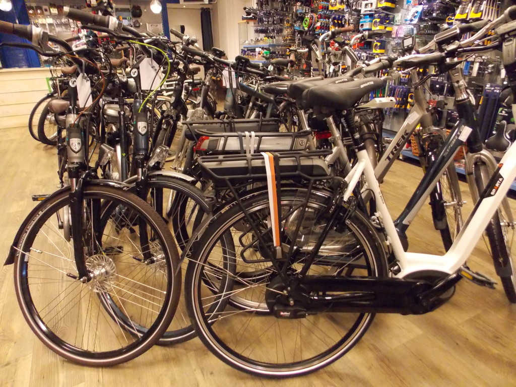 fietsshop uitgeest elektrische fiets trek sparta gazelle shimano steps