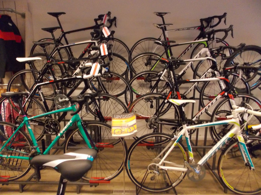 fietsshop uitgeest racefietsen Scott en Trek