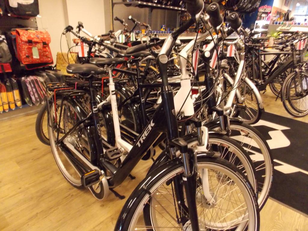 fietsshop uitgeest stadsfiets trek l400