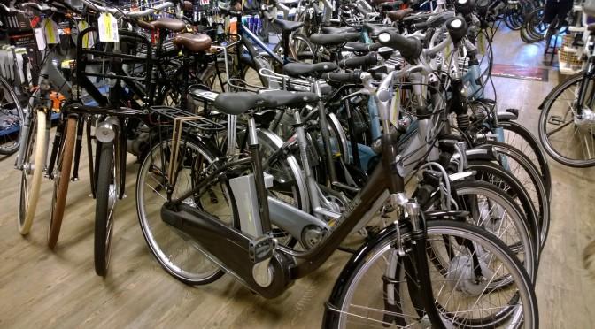 fietsshop uitgeest najaarsopruiming